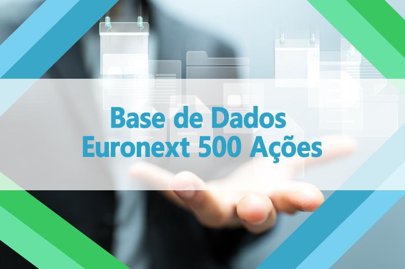 Base de dados 500 ações da Euronext
