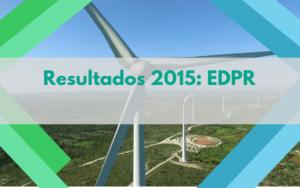 Resultados 2015 EDPR