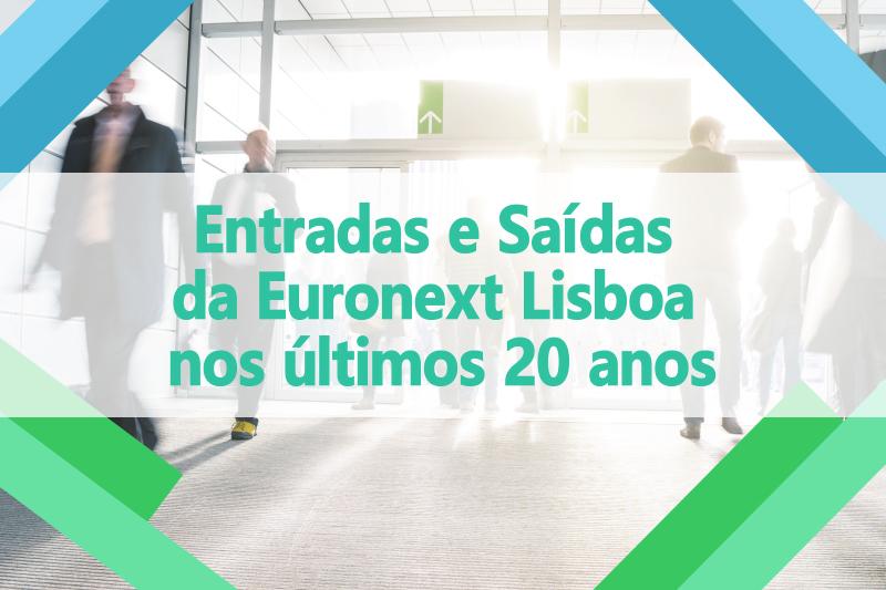 20_Entradas e Saídas da Euronext Lisboa nos últimos 20 anos