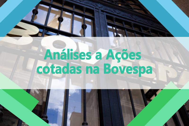 Análises a Ações cotadas na Bovespa