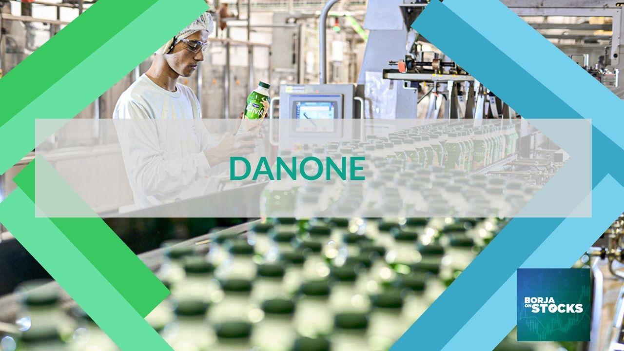Análises fundamentais às ações da Danone (Euronext Paris)