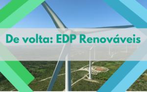 De volta EDP Renováveis