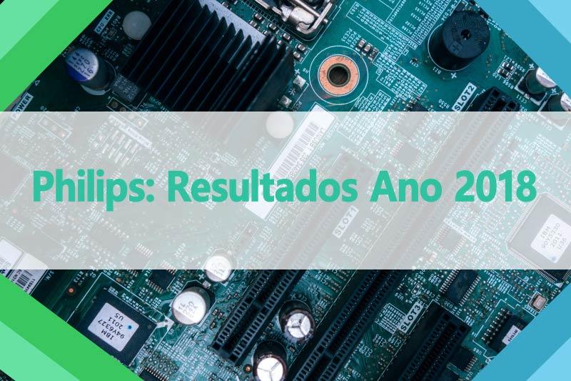 Philips- Resultados Ano 2018