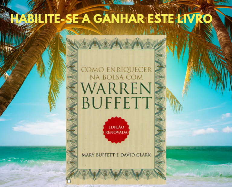 Como Enriquecer na Bolsa com Warren Buffett - Participe e receba o livro grátis