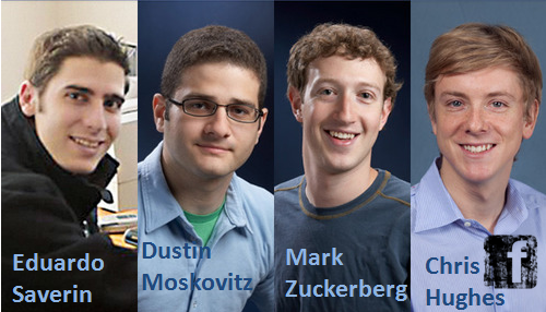 Fundadores do Facebook Inc