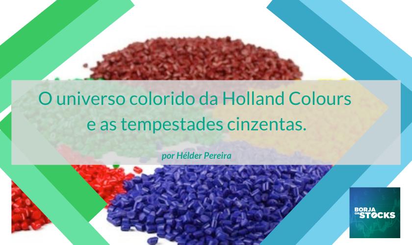 A Holland Colours desenvolve, produz e comercializa corantes líquidos e sólidos, masterbatches...
