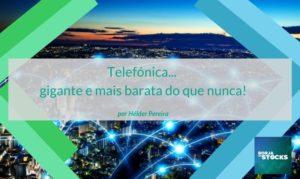 Análise fundamental às ações da Telefónica (IBEX35) - Bolsa de Madrid