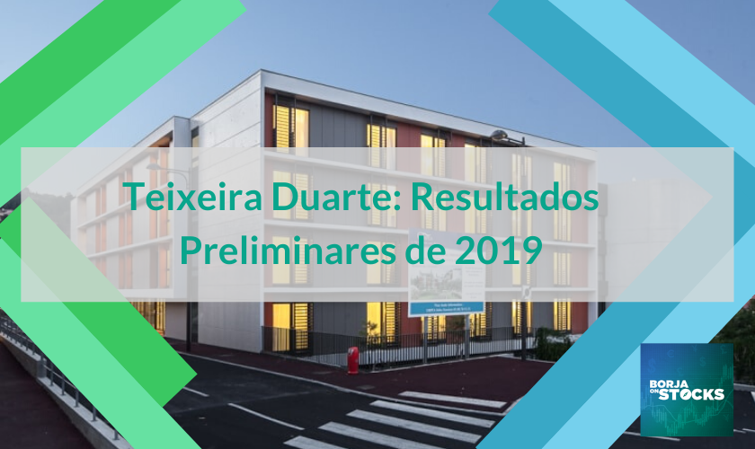 eixeira Duarte Resultados Preliminares de 2019