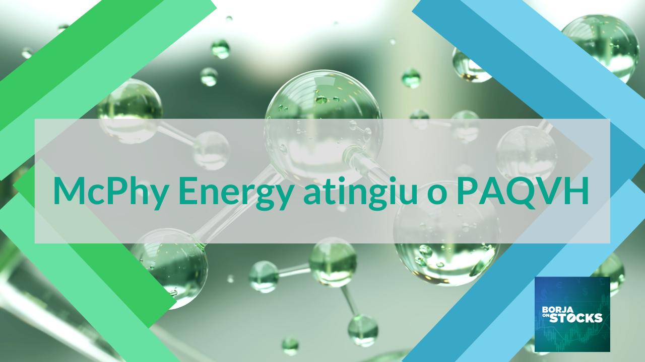 McPhy Energy atingiu o PAQVH