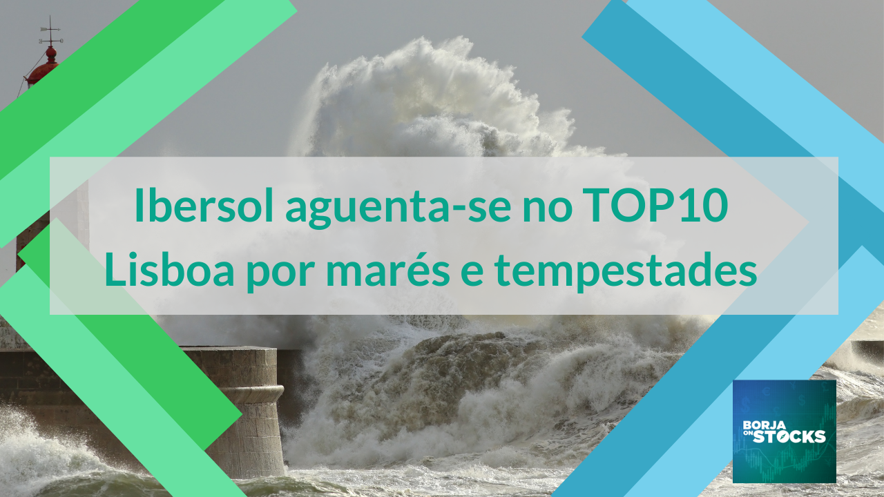 Ibersol aguenta-se no TOP10 Lisboa por marés e tempestades