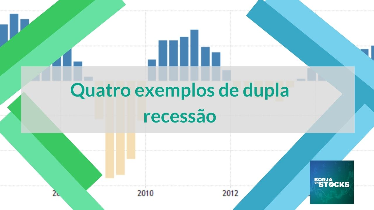 Quatro exemplos de dupla recessão