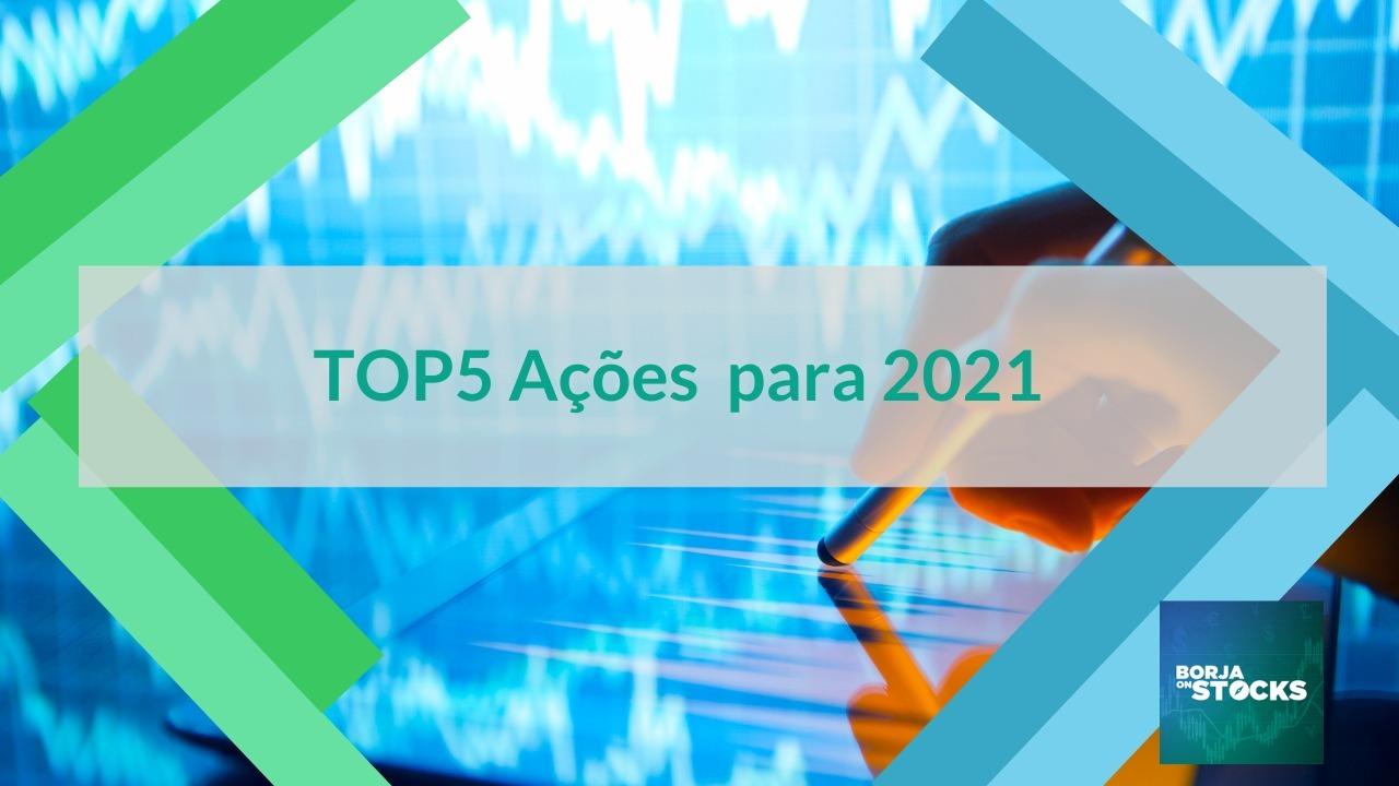 TOP5 Ações 2021