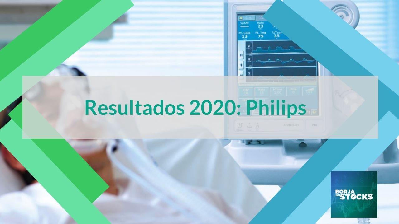 Resultados 2020 Ações da Philips - Bolsa de Amesterdão