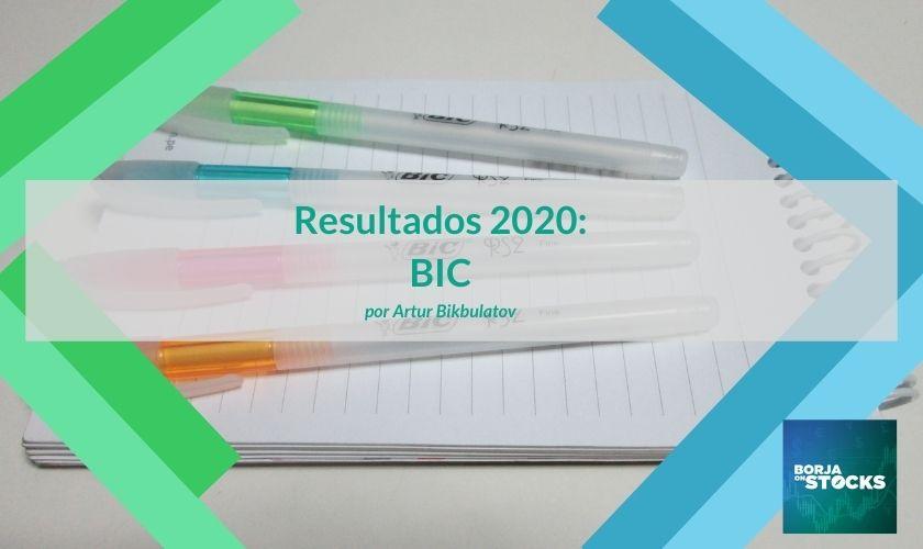 Resultados 2020: BIC