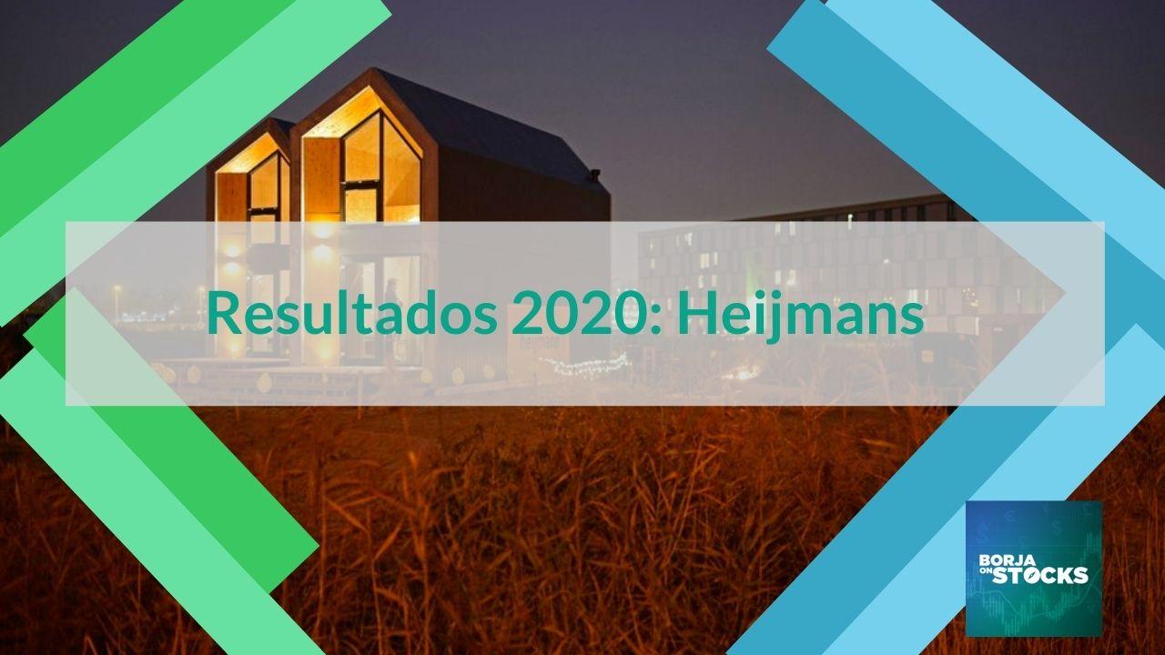 Resultados 2020: Heijmans