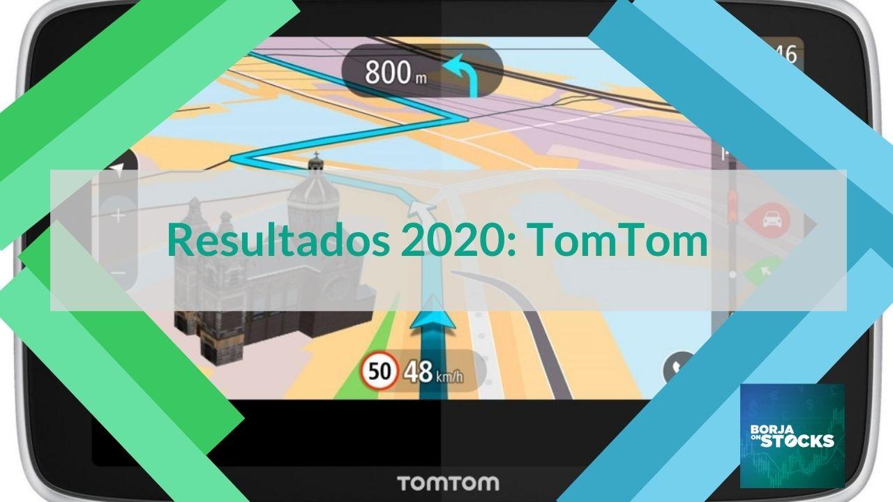 Resultados 2020: TomTom