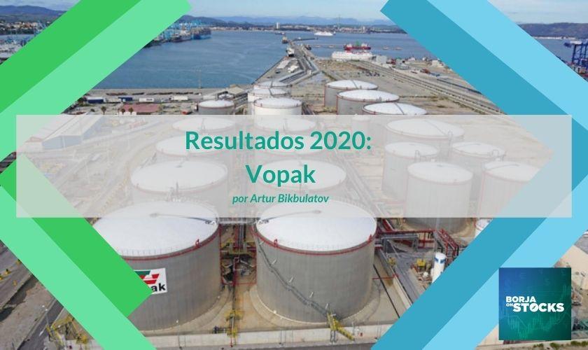Resultados 2020: Vopak