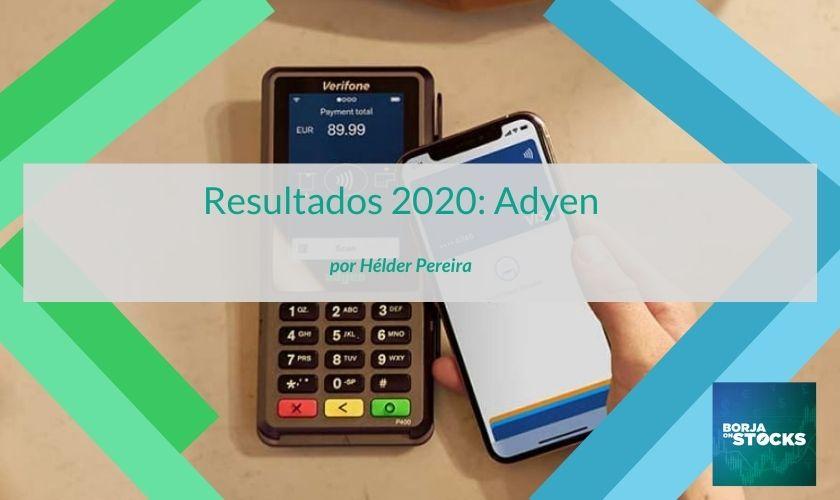 Resultados 2020: Adyen