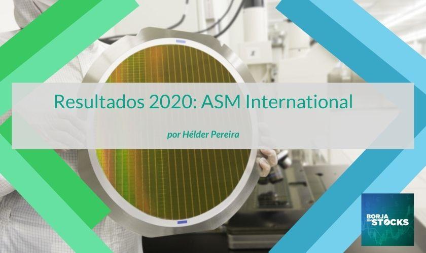 Resultados 2020: ASM International