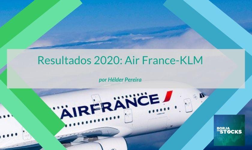 Resultados 2020: Air France-KLM