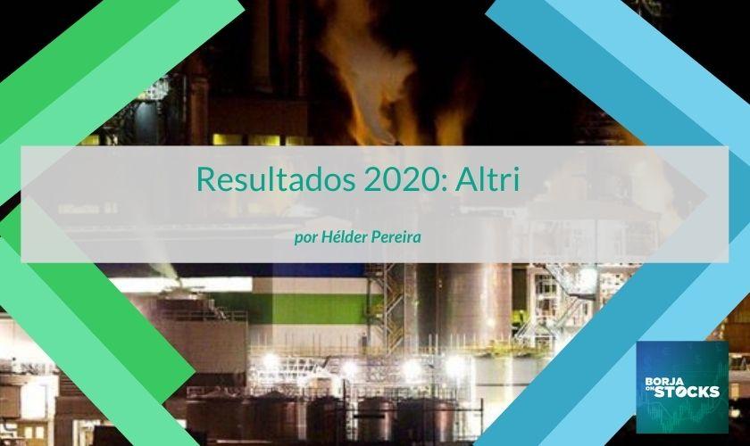 Resultados 2020: Altri