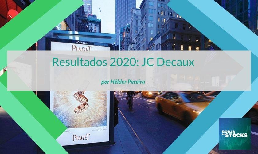 Resultados 2020: JC Decaux