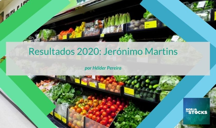 Resultados 2020: Jerónimo Martins