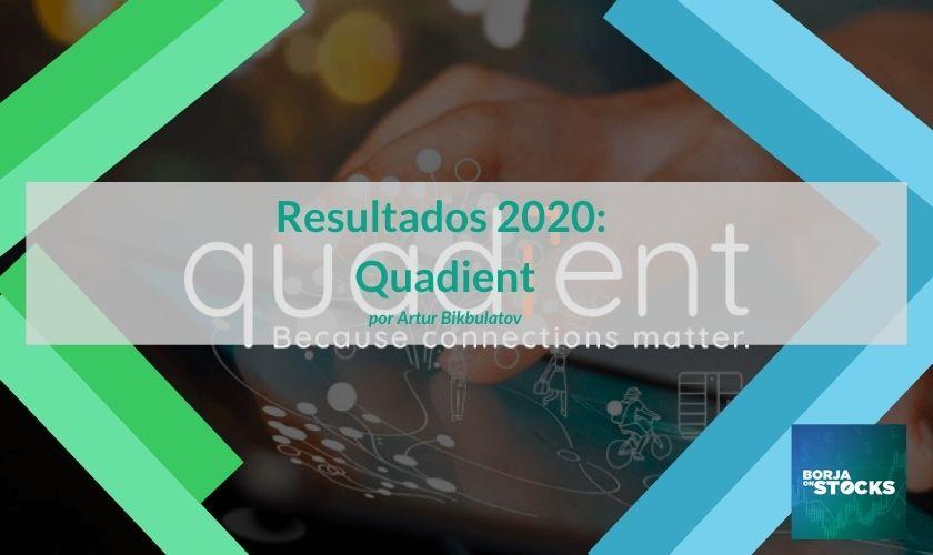 Resultados 2020: Quadient