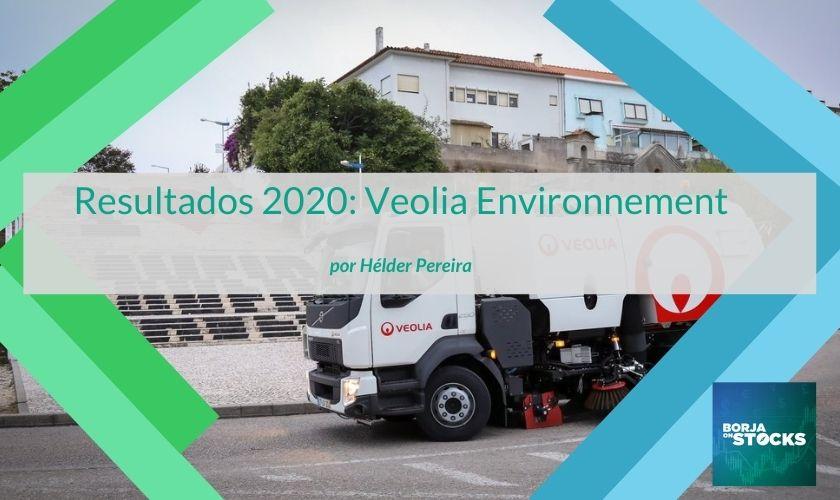 Resultados 2020: Veolia Environnement