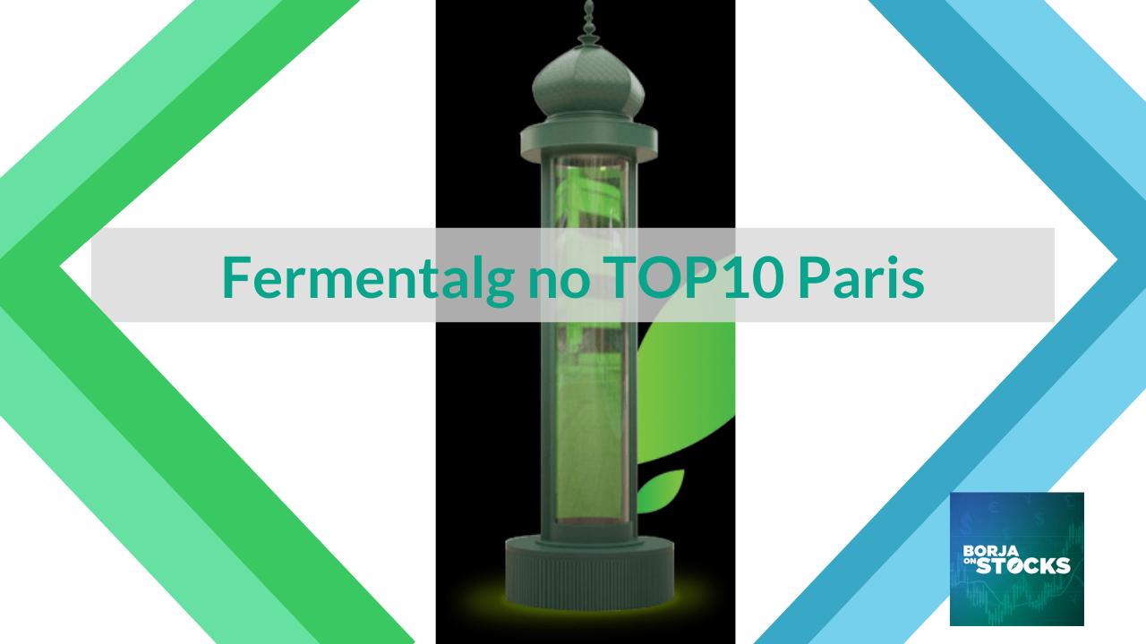 Fermentalg no TOP10 Paris